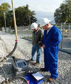 LIRA Testing of an Underground Electrical Transmission Circuit