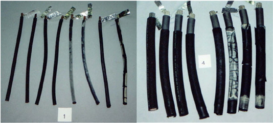 Figure 2 Cables Affected by High Temperature Environments