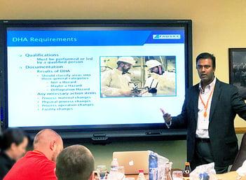Dr. Ashok Dastidar teaching NFPA 652 Course at Fauske & Associates, LLC-1