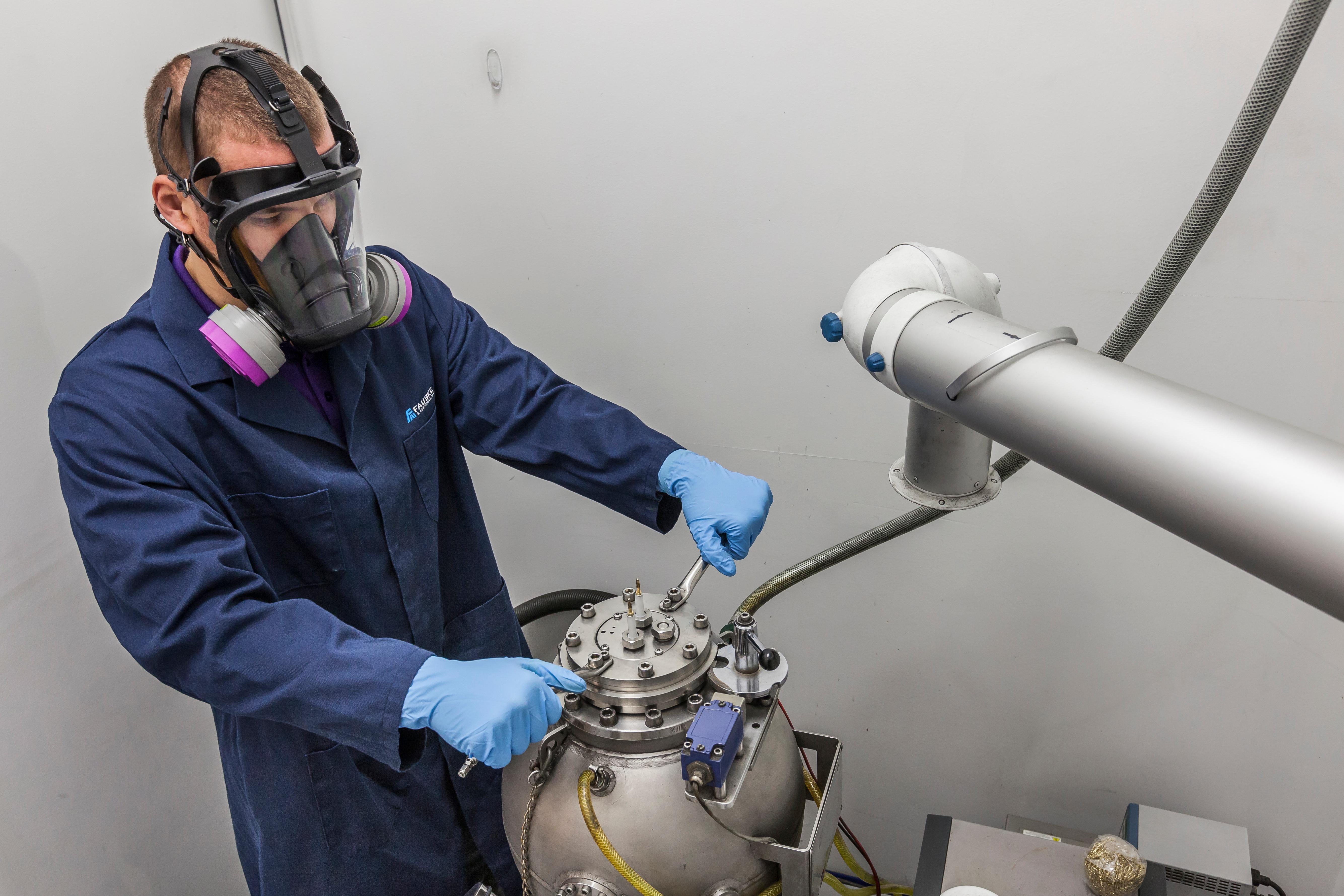 Dust Testing Lab - Fauske & Associates, LLC