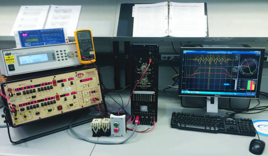 Protective relay calibration and testing