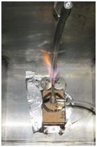 Flame Hut ICEA S-19-81 Testing