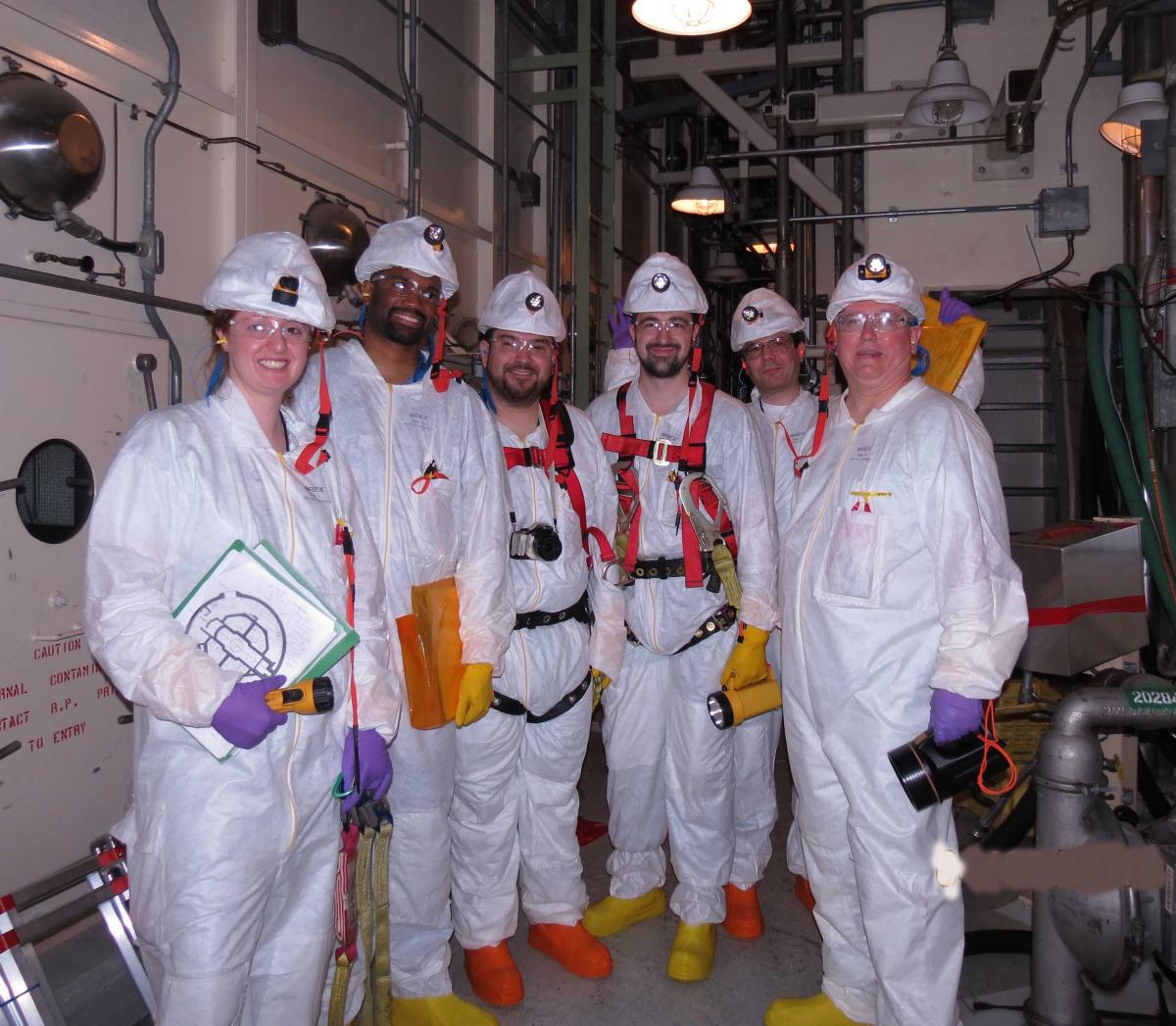 Nuclear plant safety testing