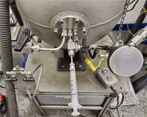 hybrid mixtures testing apparatus