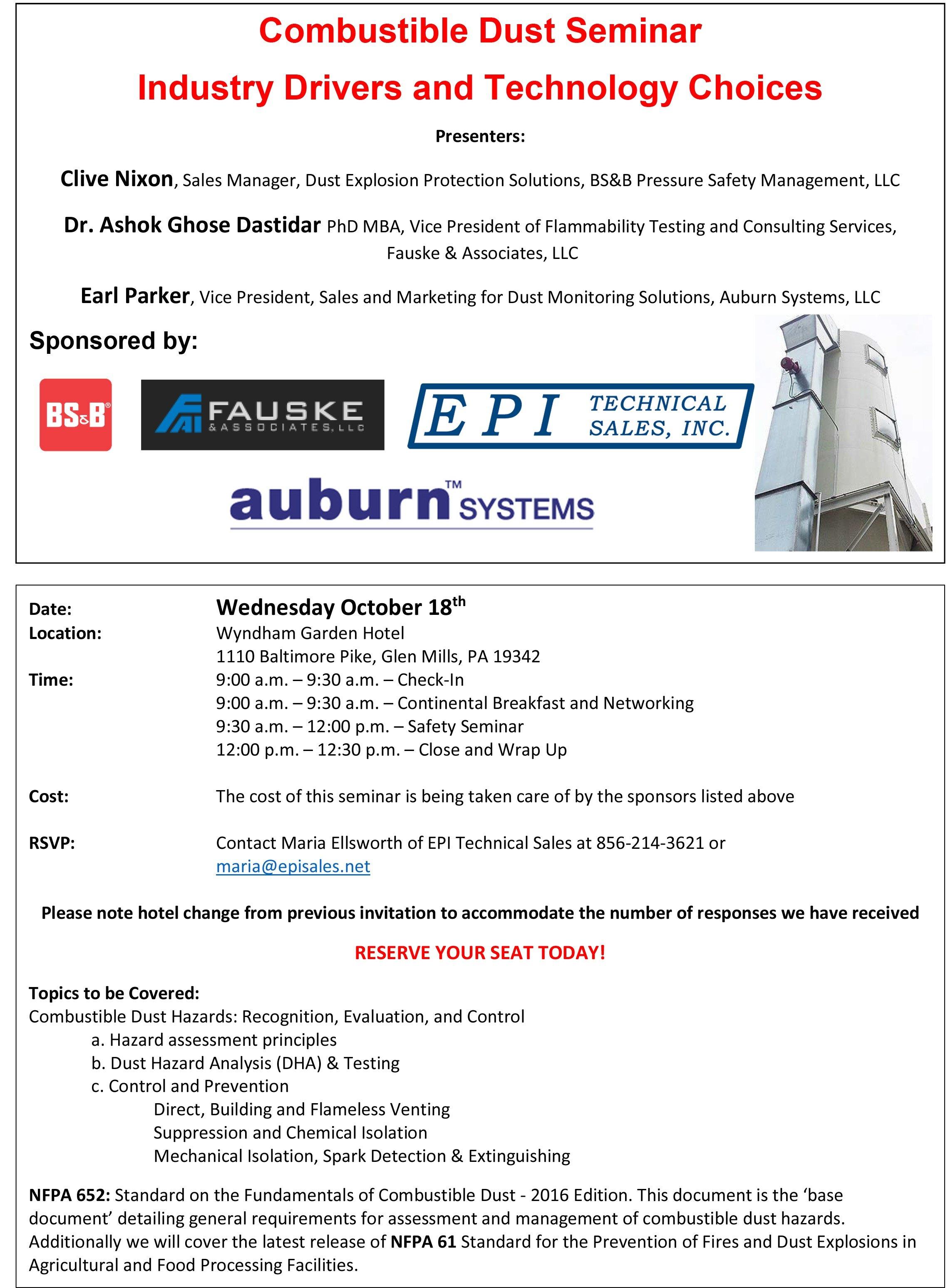 Invitation Explosion Protection Seminar  October 18 - 2017 Rev 1.jpg