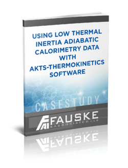low thermal inertia adiabatic calorimetry data