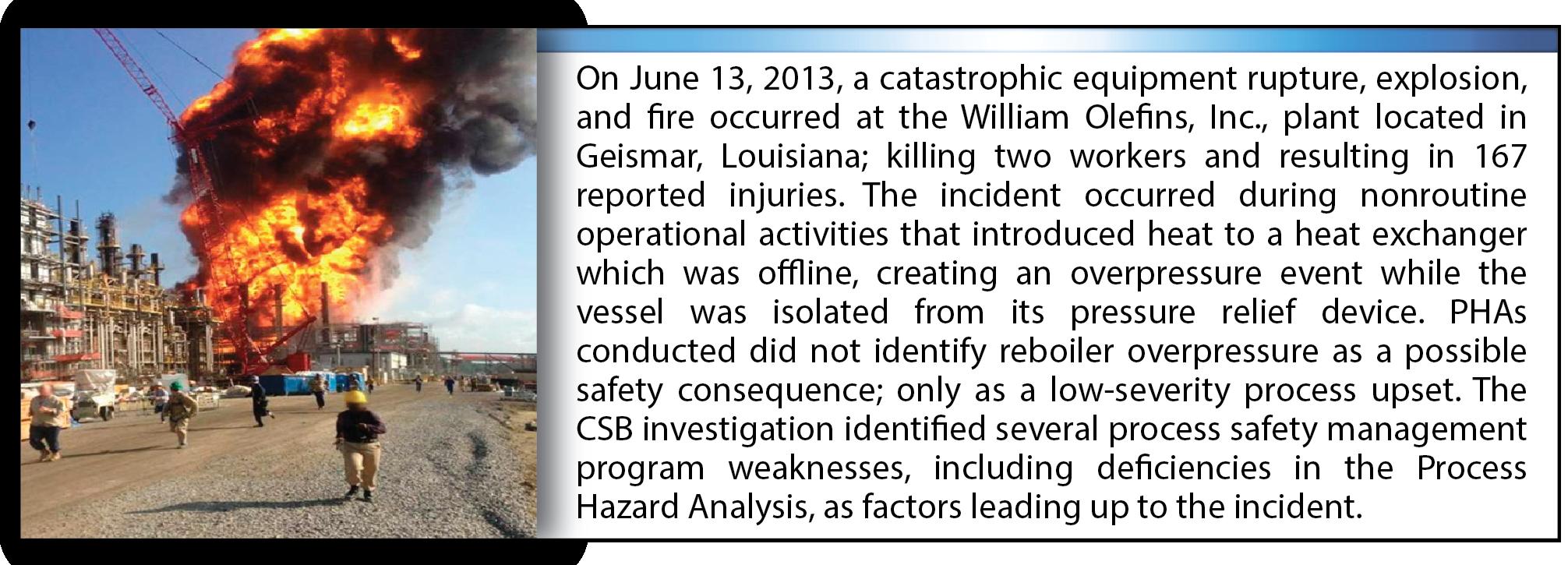 Figure 1c. – William Olefins, Inc. Explosion and Fire[5]