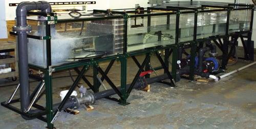 Waterhammer in FAI Flume Lab