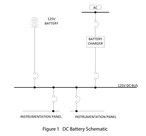 DC Battery Schematic