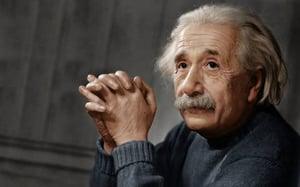 Einstein Nuclear Headshot