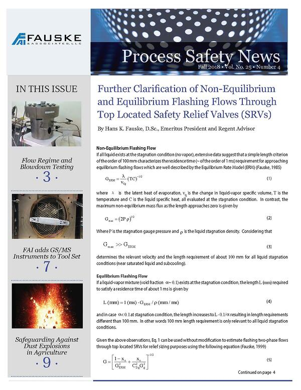 process safety risk based assessment news