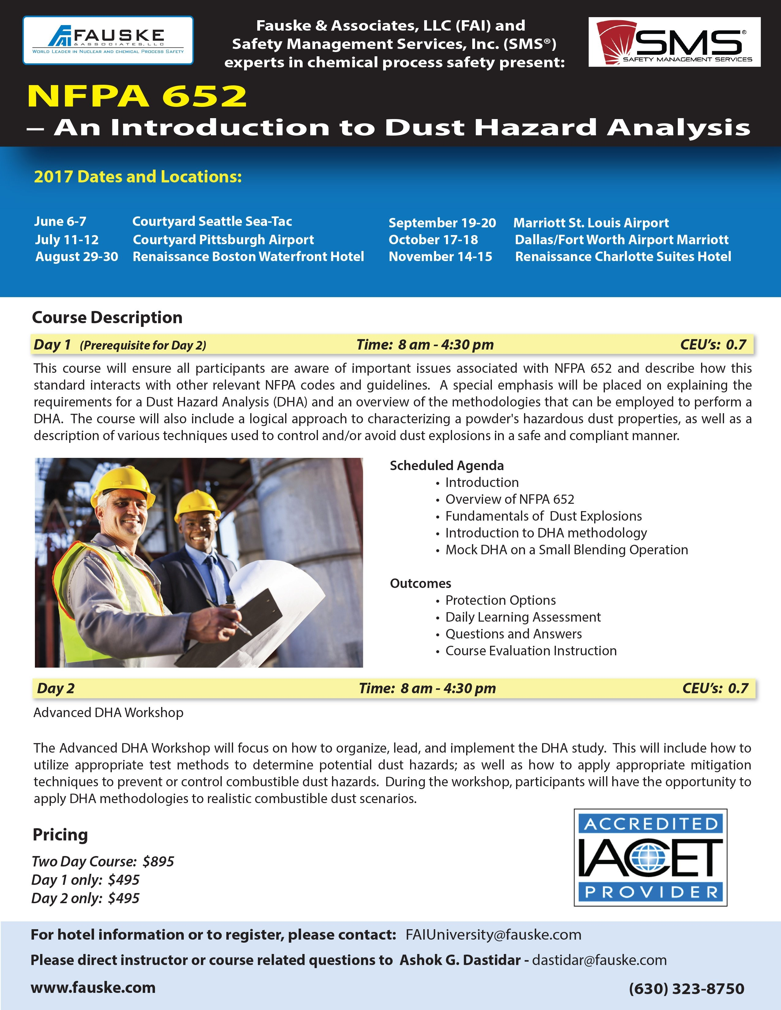 Combustible Dust Training - NFPA 652