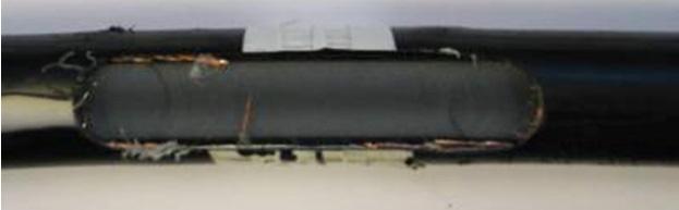 Fig5-24kV_cable_wtih_mech_damage_at_26_ft
