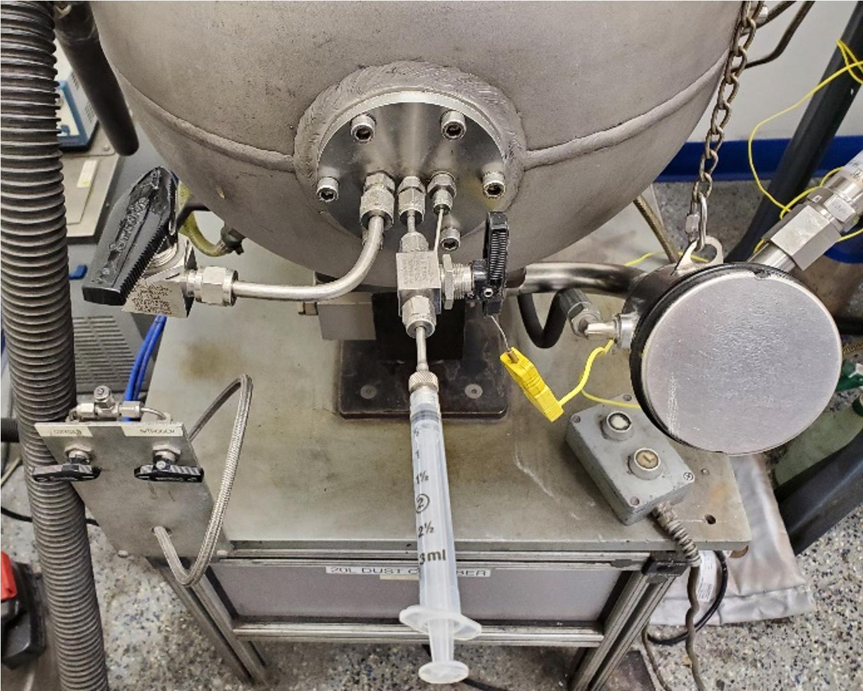 Hybrid mixtures testing