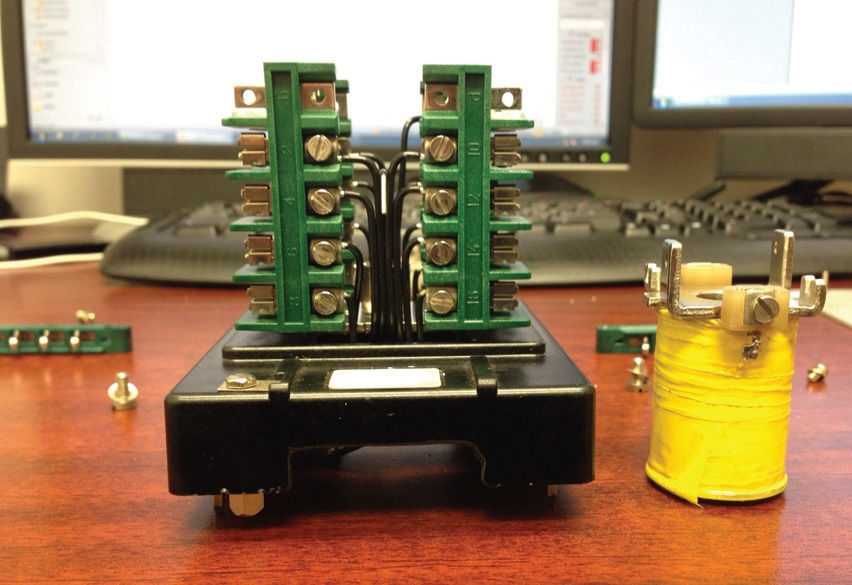 Component Analysis Case Study: Auxiliary Relay Refurbishment
